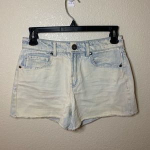Forever 21 Bleached Denim Shorts